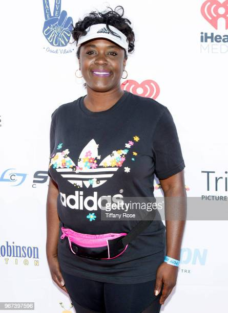 Michelle Chambers attends the 8th Annual Pedal On The Pier Fundraiser at Santa Monica Pier on June 3 2018 in Santa Monica California