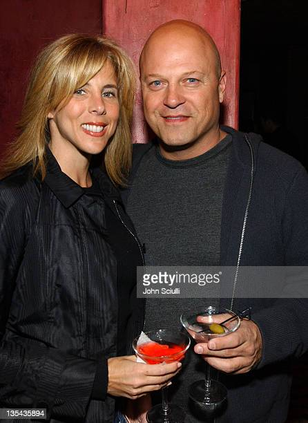 Michelle Chiklis and Michael Chiklis during GQ Magazine Celebrates the Release of the April 2005 Issue Featuring Jessica Alba at Spider Club in Los...