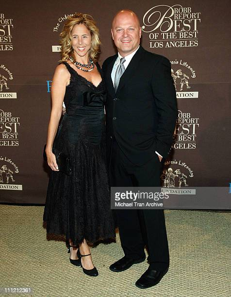 Michelle Chiklis and Michael Chiklis during RobbReport Best of the Best of Los Angeles October 15 2005 at Santa Monica Airport Hangar Eight in Santa...