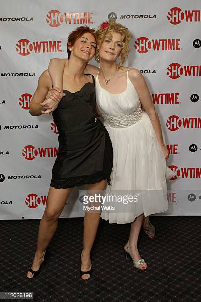 Michelle Clunie and Thea Gill at the Motorola Sponsored New York Premiere of Showtimes Queer as Folk Event