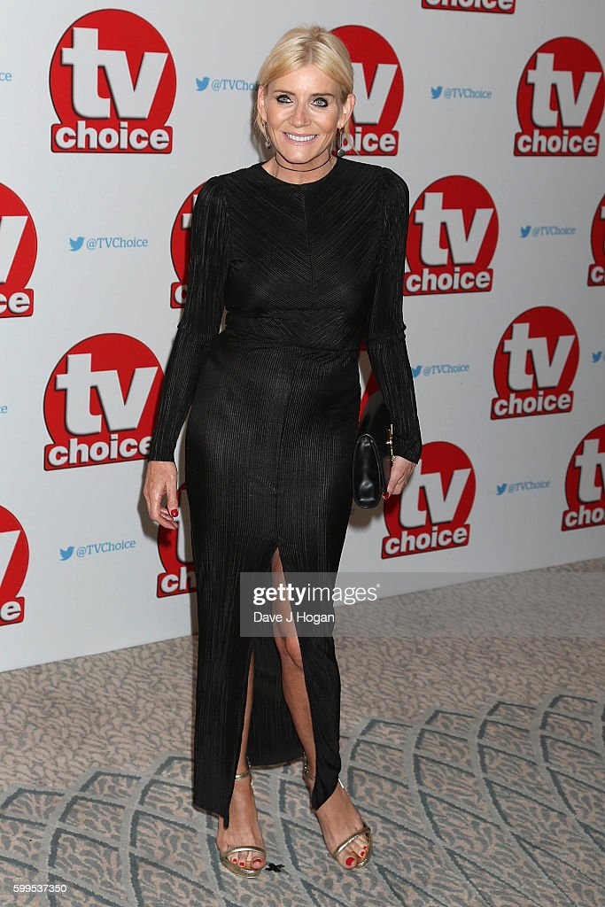 Michelle Collins arrives for the TVChoice Awards at The Dorchester on September 5, 2016 in London, England.