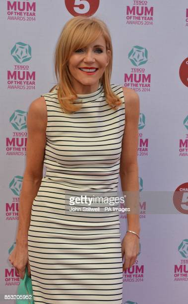 Michelle Collins arriving at the Tesco Mum of the Year Awards celebrating Britain's most inspirational mothers at The Savoy Hotel Strand in central...