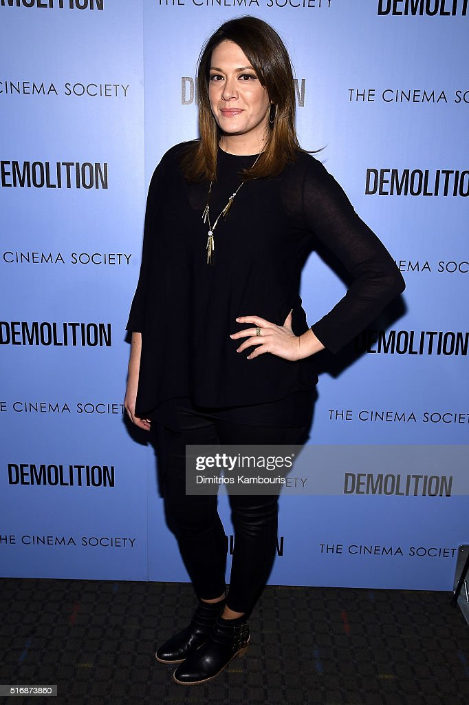 "Fox Searchlight Pictures With The Cinema Society Host A Screening Of ""Demolition"" - Arrivals"
