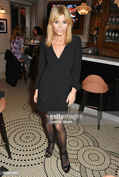 Michelle Collins attends an after party following the press night performance of 'The Mentalists' at Kettner's on July 13 2015 in London England