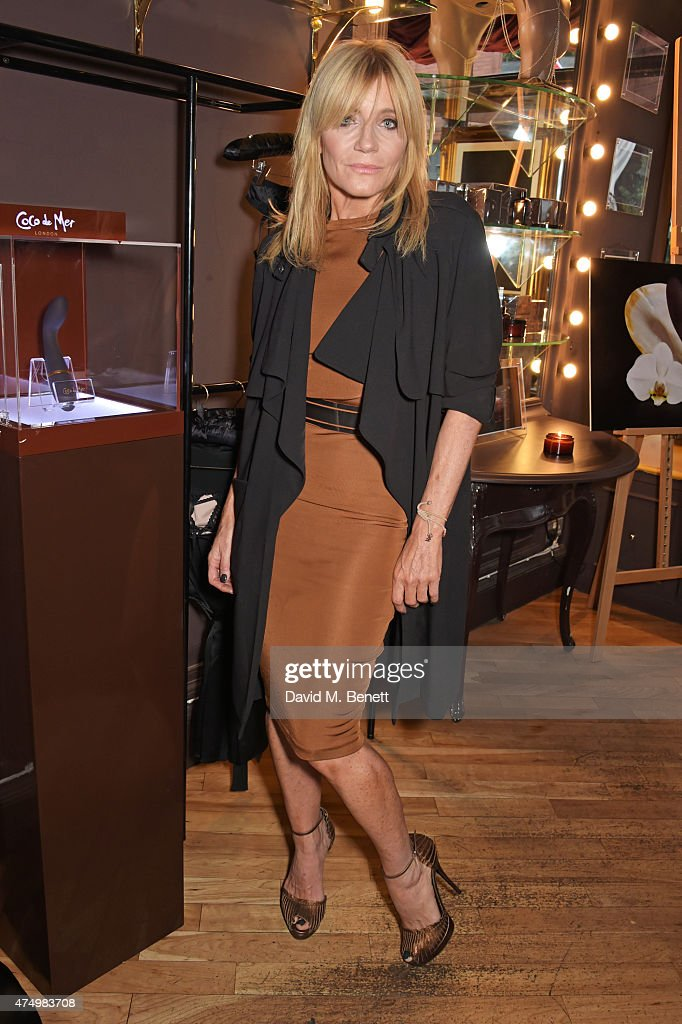 Michelle Collins attends as Coco de Mer London unveil their new Pleasure Collection featuring the exclusive Pleasure Seed Vibrator at Coco de Mer Monmouth Street on May 28, 2015 in London, England.