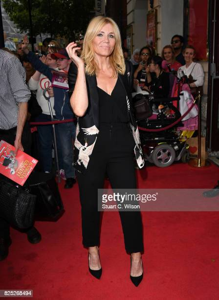 Michelle Collins attends David Walliams Gangsta Granny West End press night at the Garrick Theatre on August 1 2017 in London England