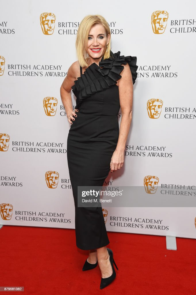 Michelle Collins attends the BAFTA Children's Awards at The Roundhouse on November 26, 2017 in London, England.
