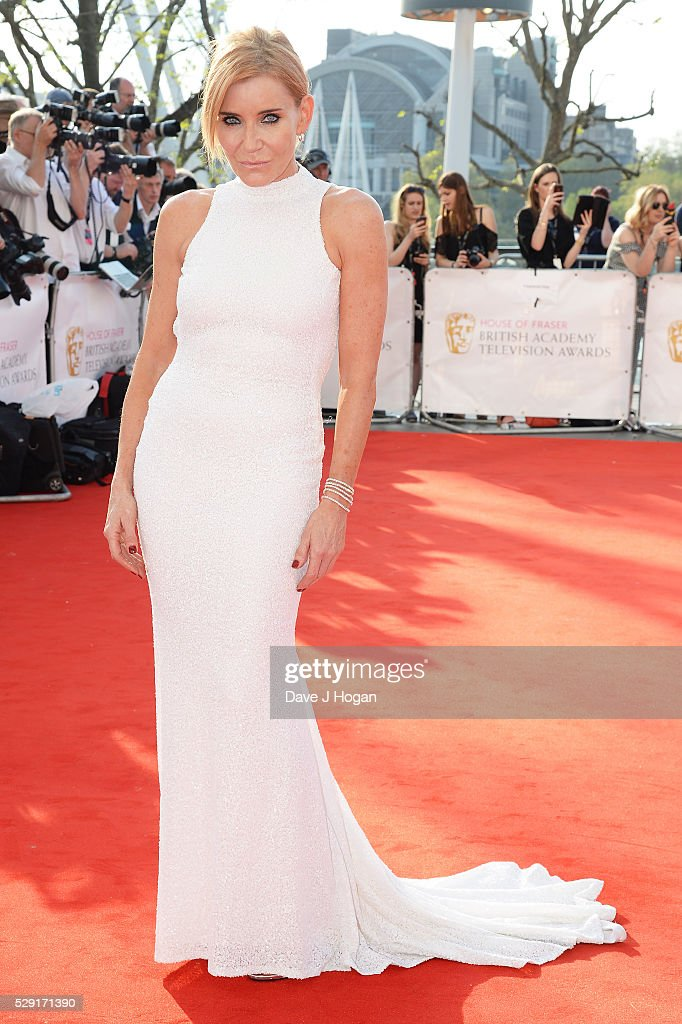 Michelle Collins attends the House Of Fraser British Academy Television Awards 2016 at the Royal Festival Hall on May 8, 2016 in London, England.