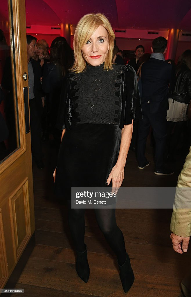 Michelle Collins attends the press night after party for 'Close To You: Bacharach Reimagined' at The Haymarket Hotel on October 15, 2015 in London, England.