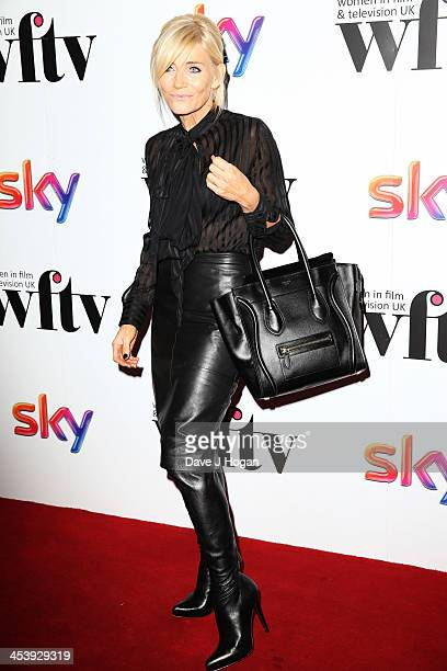 Michelle Collins attends The Sky Women in Film and Television awards 2013 at The Hilton Park Lane on December 6 2013 in London England