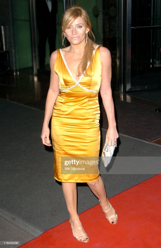 Michelle Collins during 2006 Laurence Olivier Awards - Arrivals at London Hilton in London, United Kingdom.