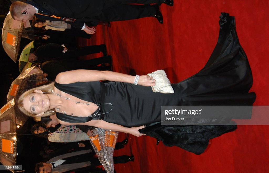 Michelle Collins during The Orange British Academy Film Awards 2006 - Outside Arrivals at Odeon Leicester Square in London, Great Britain.