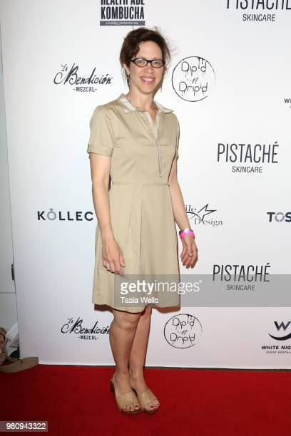 Michelle Crames attends Kollectin Fashion Jewelry popup night on June 21 2018 in Los Angeles California