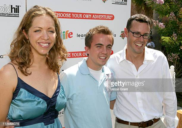 Michelle Crames producer Frankie Muniz and Jeff Norton producer