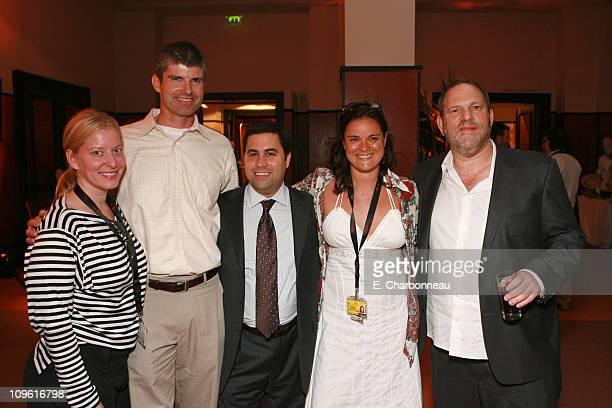 Michelle Crumm Michael Cole Glen Basner and Maeva Gatineau and Harvey Weinstein