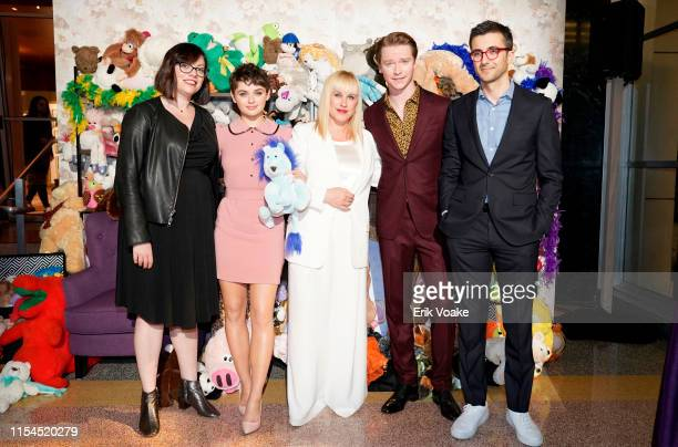 Michelle Dean Joey King Patricia Arquette Calum Worthy and Nick Antosca attend Hulu's The Act FYC event at Linwood Dunn Theater at the Pickford...