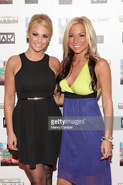Michelle DeCarlo and Jackie Bianchi of Jerseylicious attend 'The Glamour State225 Years Of Stylish Innovation' Book Launch Party on November 20 2012...