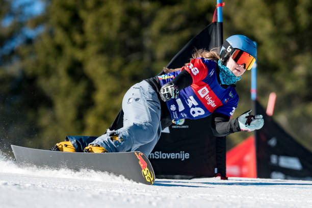 SVN: FIS Snowboard Alpine World Championships - Women's Parallel Giant Slalom Qualification