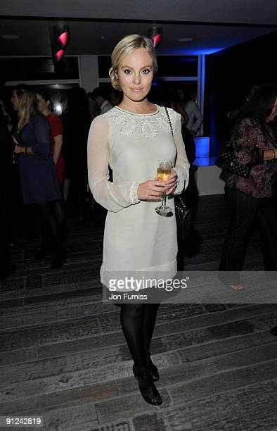 Michelle Dewberry attends the 02 X Awards at the Paramount Centrepoint on September 29 2009 in London England