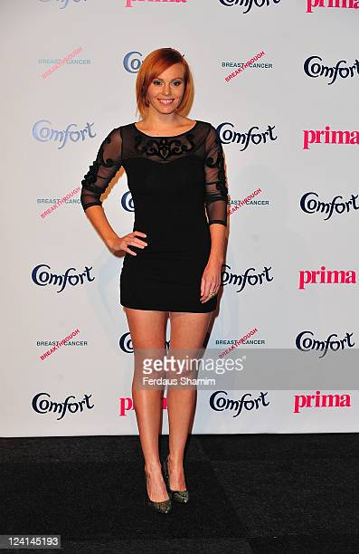 Michelle Dewberry attends the Comfort Prima High Street Fashion Awards at Battersea Evolution on September 8 2011 in London England