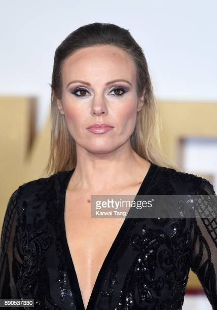 Michelle Dewberry attends the 'Darkest Hour' UK premeire at Odeon Leicester Square on December 11 2017 in London England