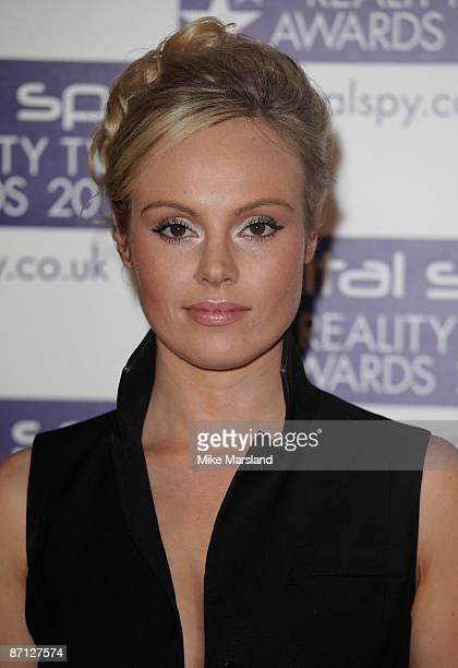 Michelle Dewberry attends the Digital Spy Reality TV Awards at the Victoria House on April 6 2009 in London England