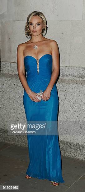Michelle Dewberry attends The Inspiration Awards For Women on October 1 2009 in London England