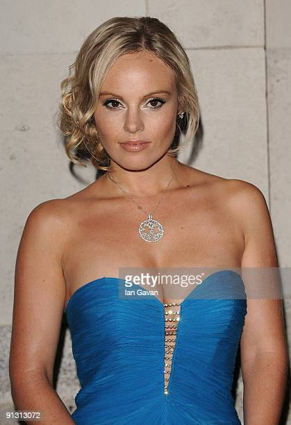 Michelle Dewberry attends the Inspiriation Awards for Women at Cadogan Hall on October 1 2009 in London England