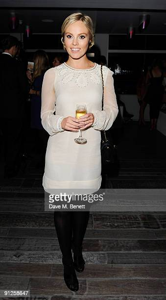 Michelle Dewberry attends the O2 X Awards at Paramount Centrepoint on September 29 2009 in London England