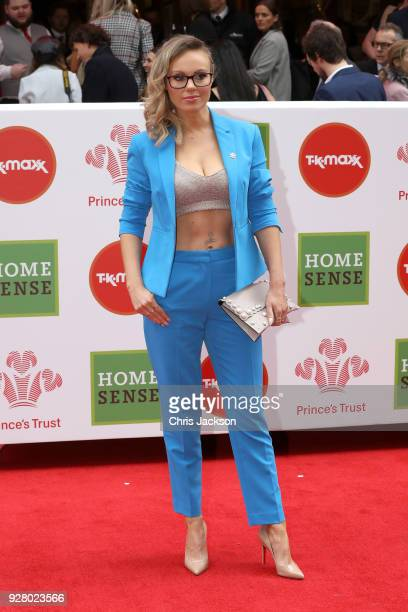 Michelle Dewberry attends 'The Prince's Trust' and TKMaxx with Homesense Awards at London Palladium on March 6 2018 in London England