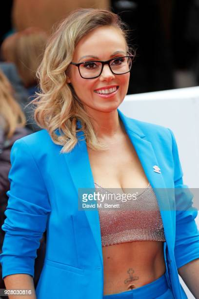 Michelle Dewberry attends 'The Prince's Trust' and TKMaxx with Homesense Awards at The London Palladium on March 6 2018 in London England