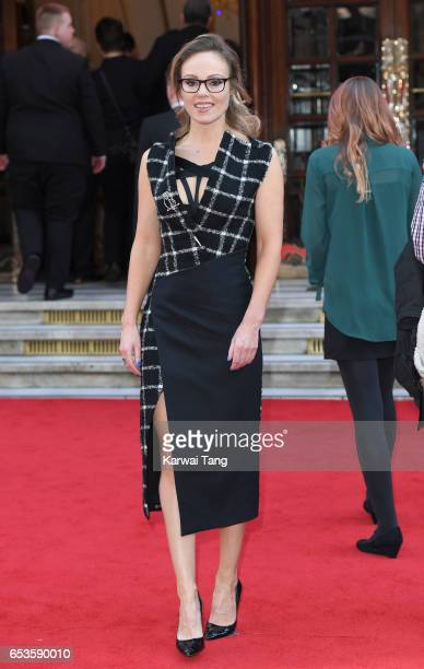 Michelle Dewberry attends the Prince's Trust Celebrate Success Awards at the London Palladium on March 15 2017 in London England