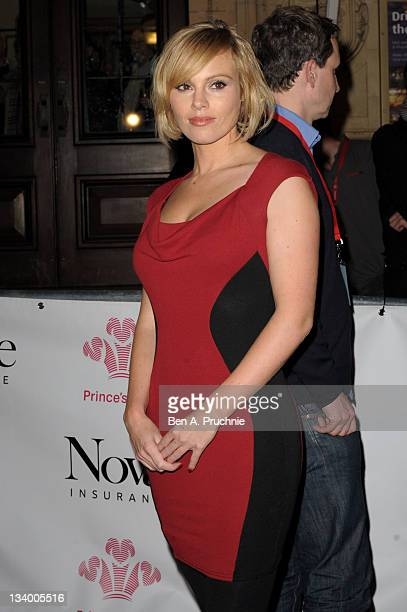 Michelle Dewberry attends the Prince's Trust Rock Gala 2011 at Royal Albert Hall on November 23 2011 in London England
