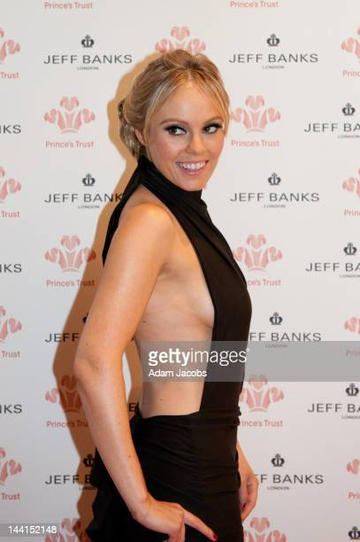 Michelle Dewberry attends The Prince's Trust Spring Ball at The Hurlingham Club on May 10 2012 in London England