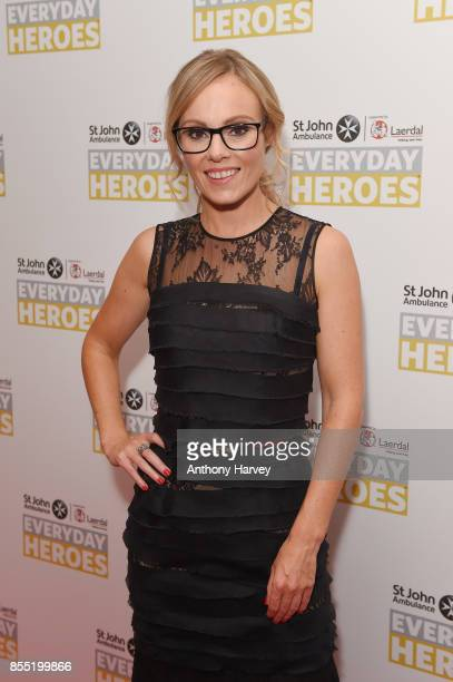 Michelle Dewberry attends the St John Ambulance's Everyday Heroes Awards a star studded celebration of the nation's life savers at Hilton Bankside on...