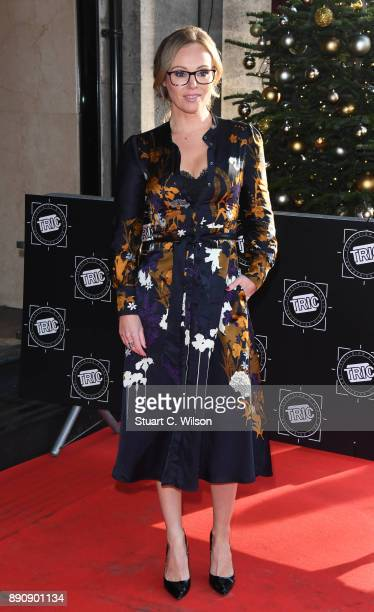 Michelle Dewberry attends the TRIC Awards Christmas lunch at Grosvenor House on December 12 2017 in London England
