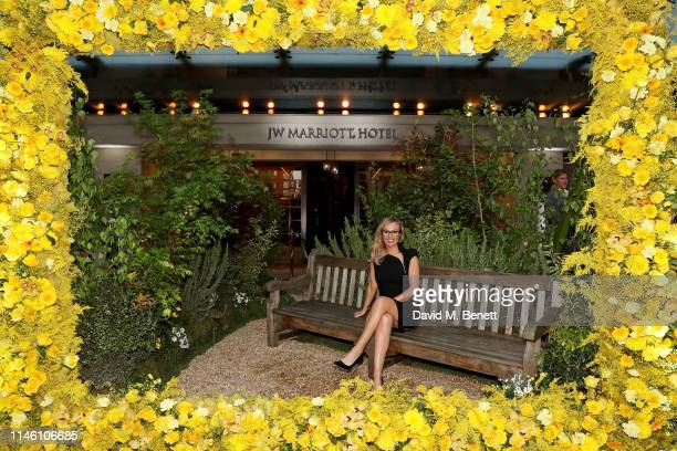 Michelle Dewberry celebrates the 90th Anniversary of JW Marriott Grosvenor House London on April 30 2019 in London England