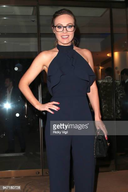 Michelle Dewberry seen attending the Terrence Higgins Trust annual charity auction raising vital funds to support people living with and affected by...