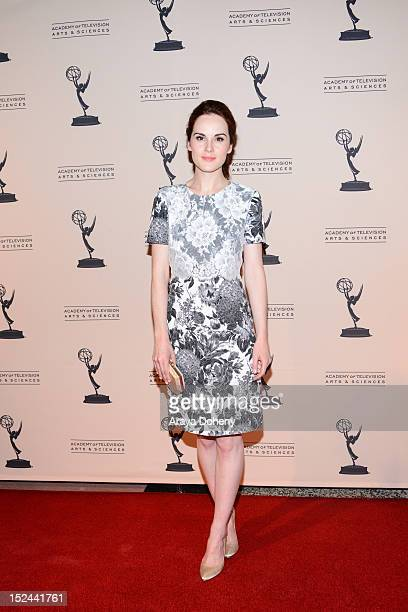 Michelle Dockery arrives at The Academy Of Television Arts Sciences Writer Nominees' 64th Primetime Emmy Awards Reception at Academy of Television...