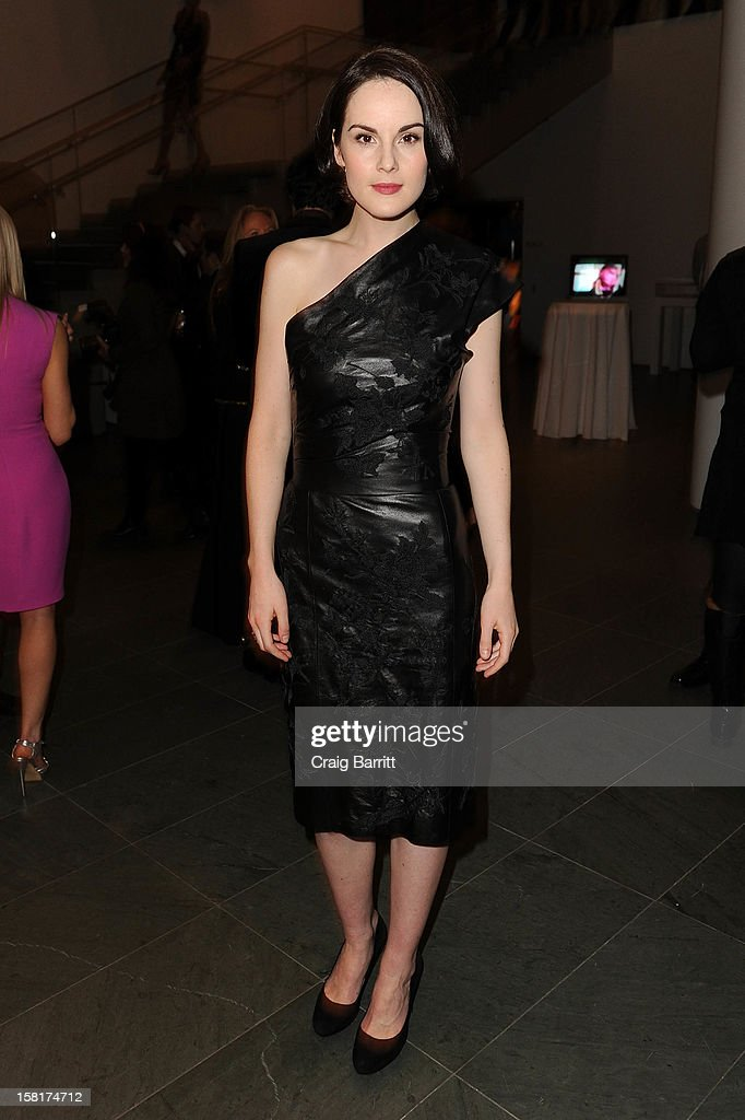 Michelle Dockery attends an evening with the cast and producers of PBS Masterpiece series 'Downton Abbey' hosted by Ralph Lauren & Graydon Carter on December 10, 2012 in New York City.