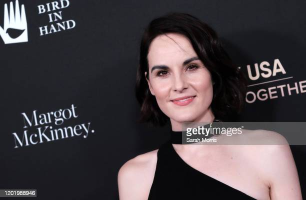 Michelle Dockery attends G'Day USA 2020 at Beverly Wilshire, A Four Seasons Hotel on January 25, 2020 in Beverly Hills, California.