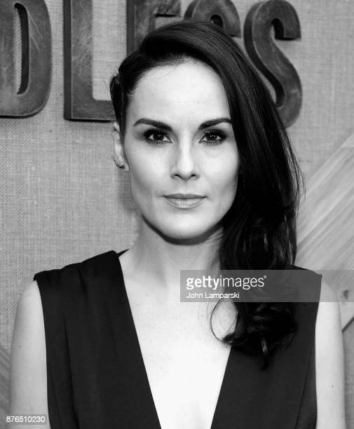 Michelle Dockery attends 'Godless' New York premiere at The Metrograph on November 19 2017 in New York City