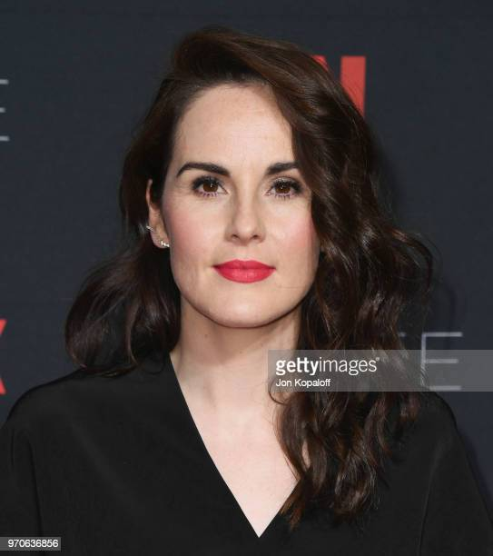 Michelle Dockery attends #NETFLIXFYSEE For Your Consideration Event For 'Godless' at Netflix FYSEE At Raleigh Studios on June 9 2018 in Los Angeles...