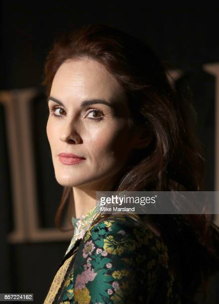 Michelle Dockery attends the BFI Luminous Fundraising Gala at The Guildhall on October 3 2017 in London England
