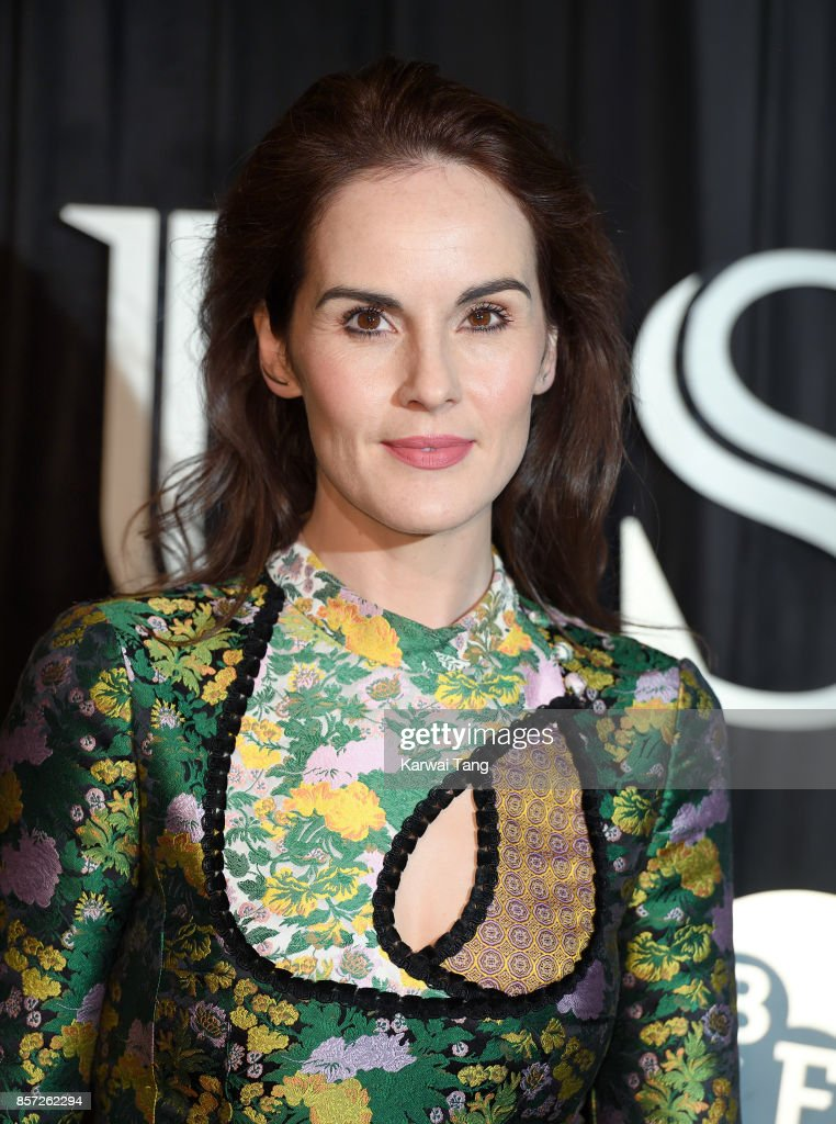Michelle Dockery attends the BFI Luminous Fundraising Gala at The Guildhall on October 3, 2017 in London, England.