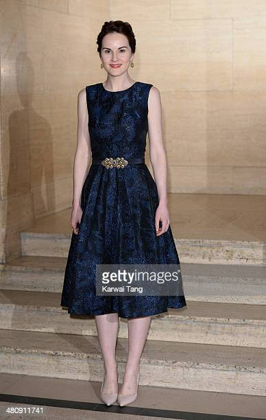 Michelle Dockery attends the Changing Faces Gala Dinner held at Bloomsbury Ballroom on March 27 2014 in London England