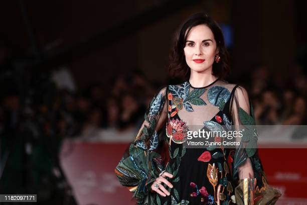 Michelle Dockery attends the Downton Abbey red carpet during the 14th Rome Film Festival on October 19 2019 in Rome Italy