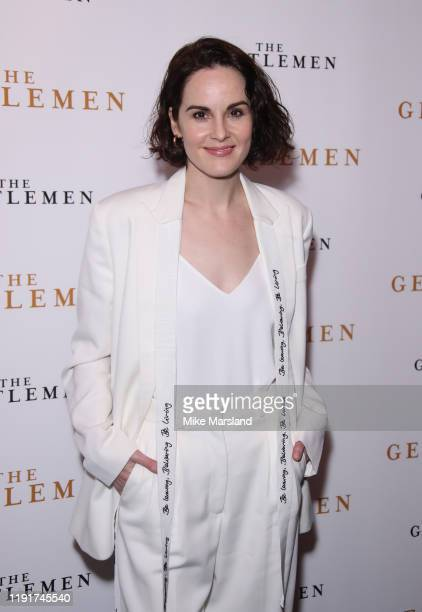 """Michelle Dockery attends """"The Gentleman"""" Special Screening at The Curzon Mayfair on December 03, 2019 in London, England."""