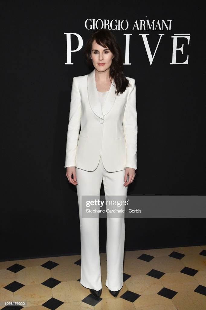 Giorgio Armani Prive : Front Row - Paris Fashion Week - Haute Couture Spring Summer 2019 : Fotografía de noticias