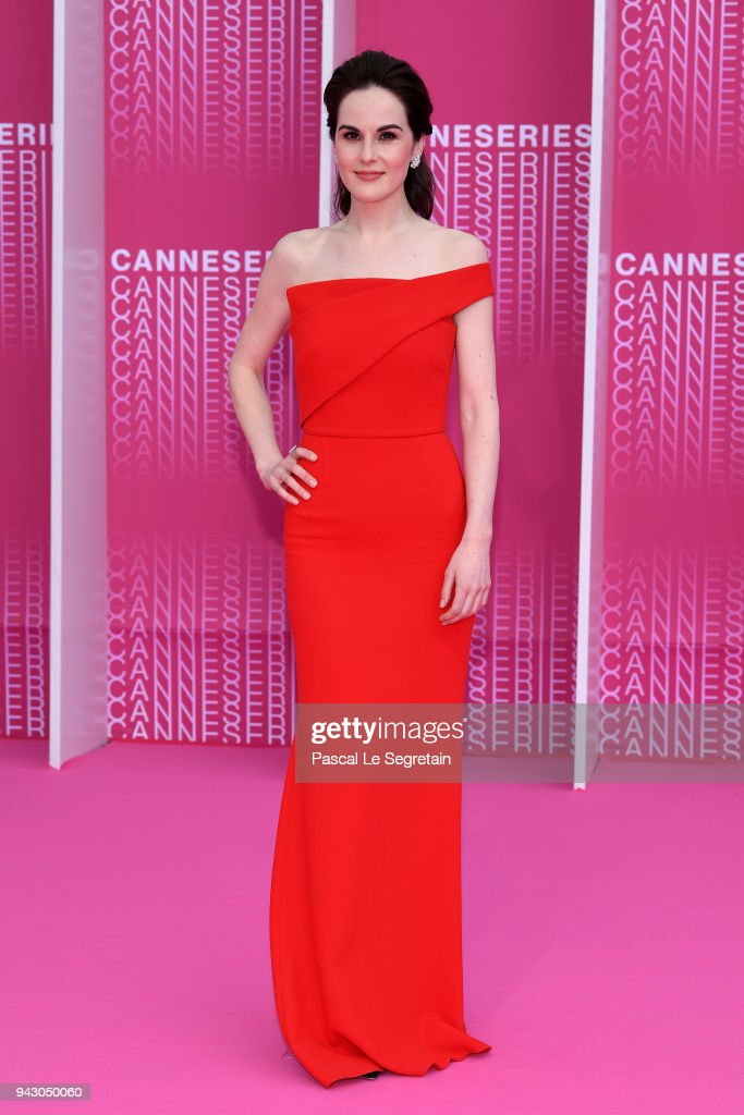 """""""The Truth About The Harry Quebert Affair"""" Pink Carpet Arrivals - The 1st Cannes International Series Festival : News Photo"""